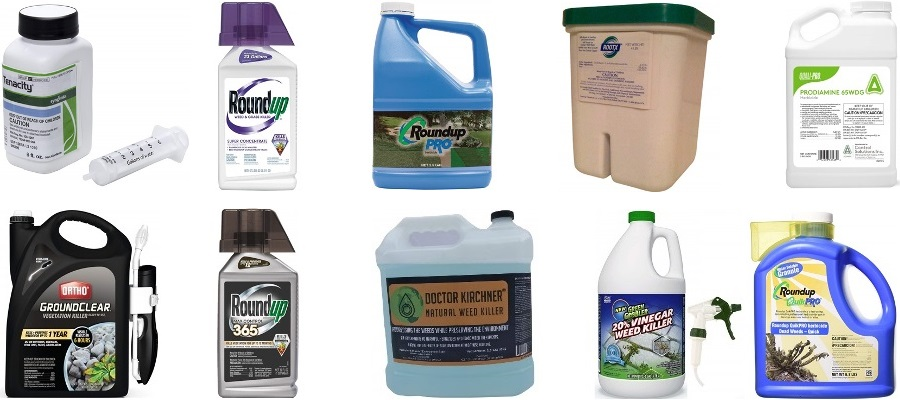 Best weed killer for large areas