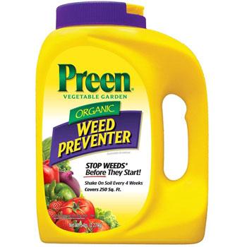 Preen Organic Vegetable Garden Weed Preventer