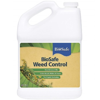 BioSafe Systems 7601-1 BioSafe Weed Control Concentrate