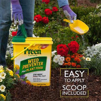 Preen Garden Weed Preventer + Plant Food