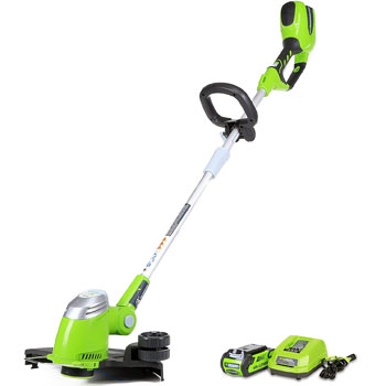 Greenworks 13-Inch 40V Cordless String Trimmer Edger