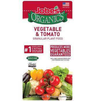 Jobe's Organics Vegetable & Tomato Granular Fertilizer