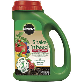 Miracle-Gro Shake 'N Feed Tomato, Fruit & Vegetable Plant Food