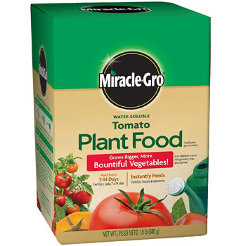 Miracle-Gro Water-Soluble Tomato Plant Food
