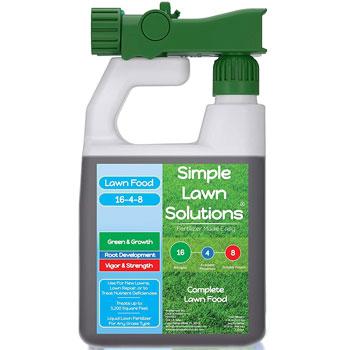 Simple Lawn Solutions Lawn Food Quality Liquid Fertilizer