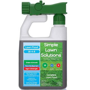 Advanced 16-4-8 Balanced NPK – Lawn Food Quality Liquid Fertilizer