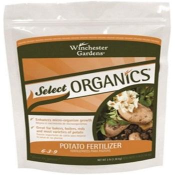 Winchester Gardens NPK 6-3-9 Select Organic Potato Granular Fertilizer